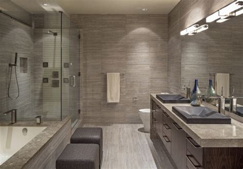 the tile shop omaha downtown penthouse contemporary bathroom omaha by
