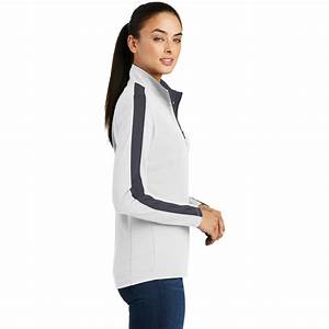 Sport Tek Pullover Size Chart Sport Tek Lst861 Ladies Sport Wick Textured Colorblock 1 4