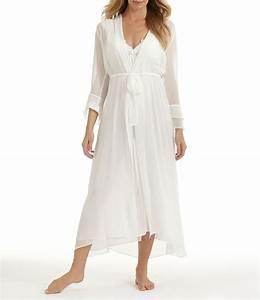 in bloom by jonquil long bridal chiffon robe dillards With robe chiffon