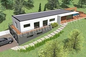 plan de maison avec piscine intrieure plan habill rdc With superior plan de maisons gratuit 5 maison contemporaine avec piscine interieure apla