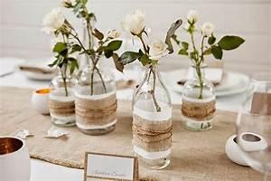3 DIY Pour Une Dcoration Table Chic Et Rustique