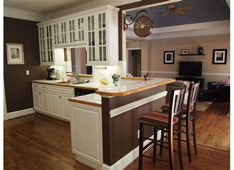 white kitchen cabinets with brown walls small homes colors and brown walls on 2068