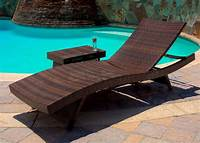 swimming pool furniture American Outdoor Beach Chair / Swimming Pool / Folding Chair Cane Chair / Luxury Lying Bed ...