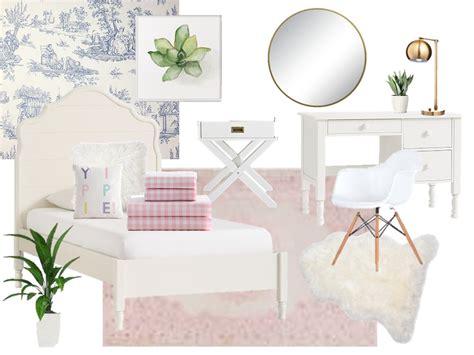 A Fresh And Feminine Bedroom