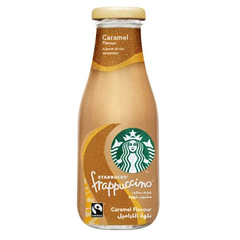 It is the #1 most loved blended beverage, and for a good reason. Buy Starbucks Frappucino Caramel Coffee Drink 250ml Online - Shop Beverages on Carrefour UAE