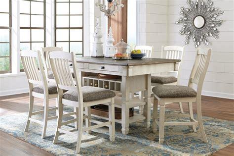 size bedroom sets 500 bolanburg 40 quot antique white rectangular dining room