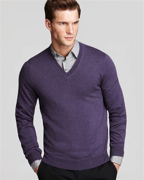 mens v neck sweater the 39 s store at bloomingdale 39 s merino v neck sweater