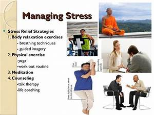 STRESS MANAGEMENT AND HOW TO DEAL WITH IT