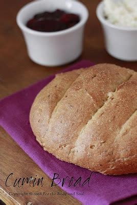 Bread N Budy for the and soul cumin bread