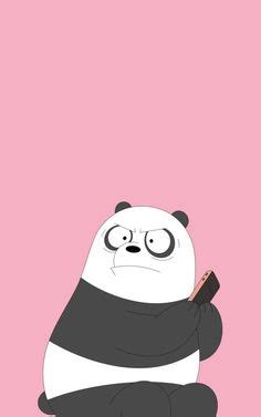 Aesthetic Lock Screen We Bare Bears Wallpaper by 125 Best We Bare Bears Phone Walpapers Images On