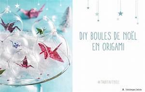 Origami Boule De Noel : boule origami d coration de no l carnet d id es jardinerie truffaut v nement jardinerie ~ Farleysfitness.com Idées de Décoration