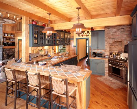 vermont country kitchen slopeside custom home in southern vermont rustic 3126