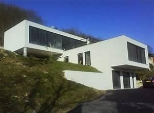 17 best images about plans maison on pinterest house With plan maison terrain pente
