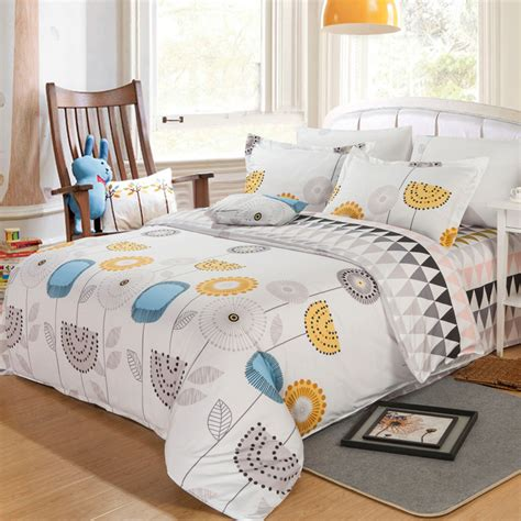 kids full comforter sets comforter set comforter bedding sets 4pc light flowers printed king size for