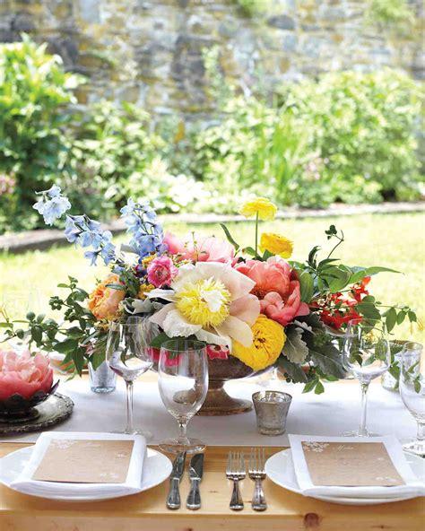 favorite floral wedding centerpieces martha