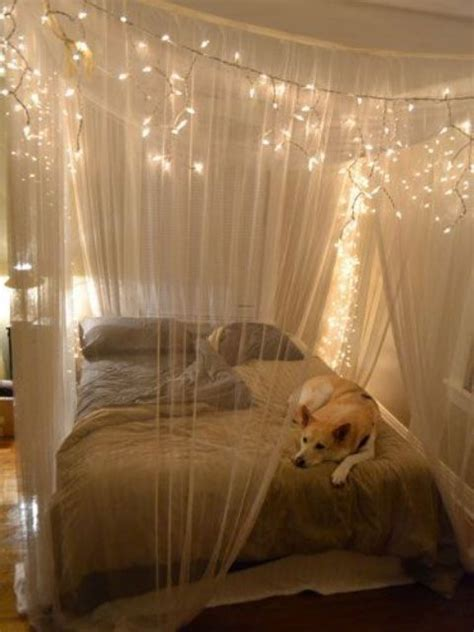 string lights   bedroom  ideas digsdigs