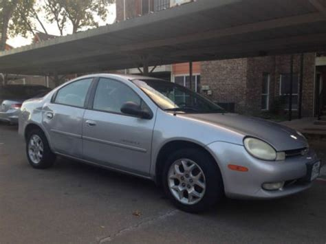 auto air conditioning service 2000 plymouth neon on board diagnostic system buy used 2000 dodge neon high line sedan 4 door 2 0l in dallas texas united states for us