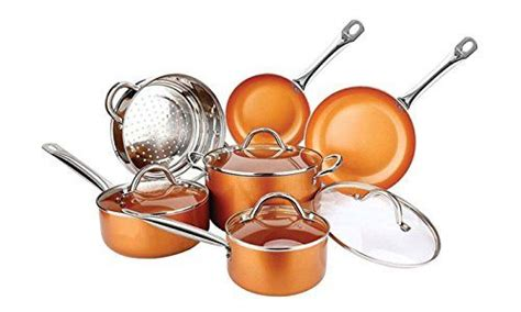 red copper pan reviews  buying guide  copper cookware set copper cookware