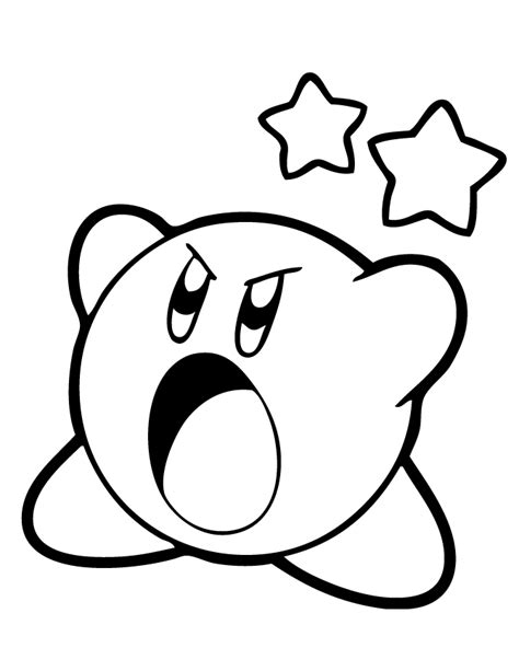Kirby Kleurplaat Woods by Printable Coloring Pages Kirby Coloring Pages