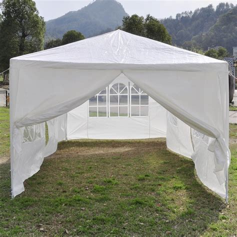 canopy tent for 10 x 20 white tent canopy gazebo