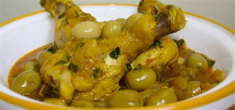 cuisine tunisienne tajine recette tajine de poulet aux olives recette marocaine