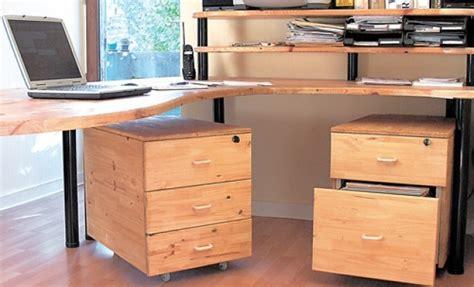 caissons bureau comment fabriquer un bureau avec des caissons bricobistro