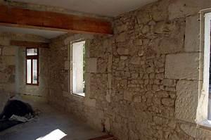 Mur Pierre Apparente : mur interieur en pierre apparente evtod ~ Premium-room.com Idées de Décoration