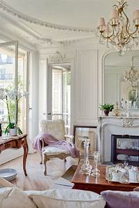 French, Interiors, A, Vintage, Elegant, Parisian, Apartment