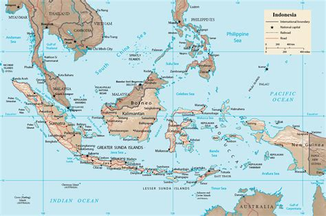indonesia map jakarta asia