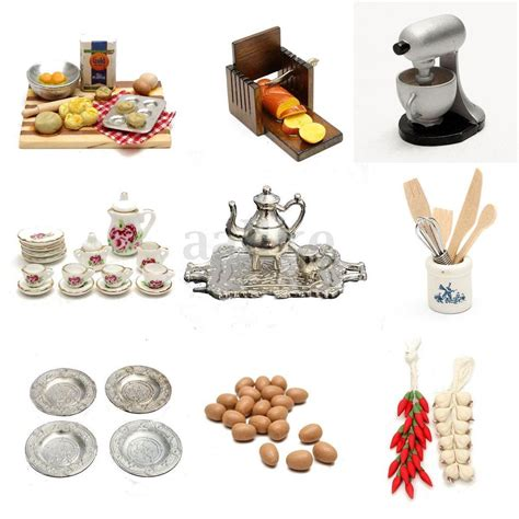 ebay kitchen accessories 1 12 scale dollhouse miniature kitchen acessories food 3509