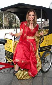 Model and TV presenter Madeline Mulqueen brings Bollywood ...