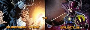 Superman Prime (Oa Power+Black Lantern Ring) vs Galactus ...