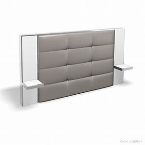 Tete De Lit Avec Chevet Intégré Ikea : tete de lit avec table de chevet integre design en image ~ Teatrodelosmanantiales.com Idées de Décoration