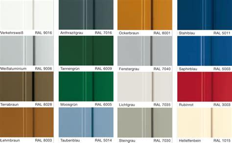 Formen Und Farben Fuer Das Garagentor by Sectionaltore