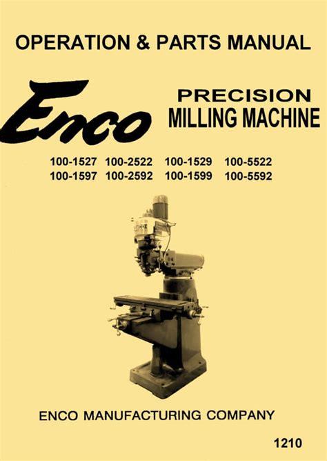 enco jet asian   vertical milling machine