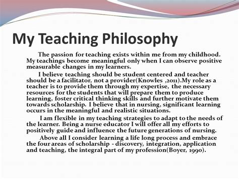 welcome to my portfolio ppt 386 | My Teaching Philosophy