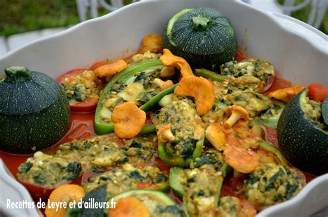 cuisiner saumon entier légumes farcis au poisson sardines et aux chanterelles