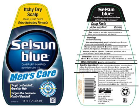 Selsun Blue Itchy Dry Scalp- Pyrithione Zinc