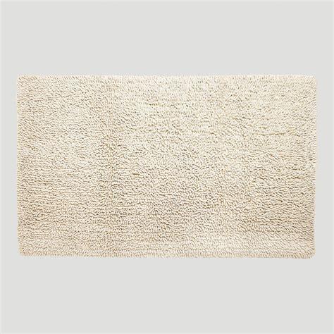 world market bath rugs ivory shaggy bath mat world market