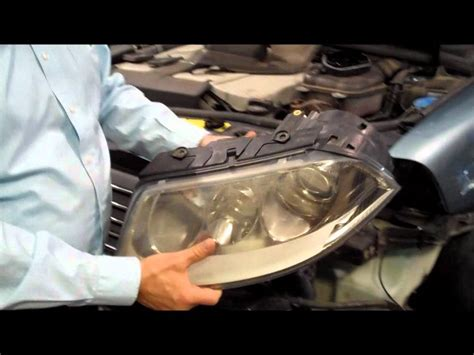 vw passat headlight bulb replacement