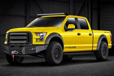 Hennessey Turns 2015 Ford F-150 Into Velociraptor