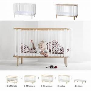 Kinderbett Für Baby : 5 in 1 babybett kinderbett flexa baby massivholz schlupfsprossen 70x140cm g nstig online ~ Markanthonyermac.com Haus und Dekorationen