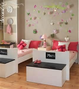 Decoración sencilla Habitación niñas La Cajita Azul de Rocío
