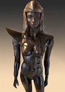 Fantasy, Art, Statue, On, Behance