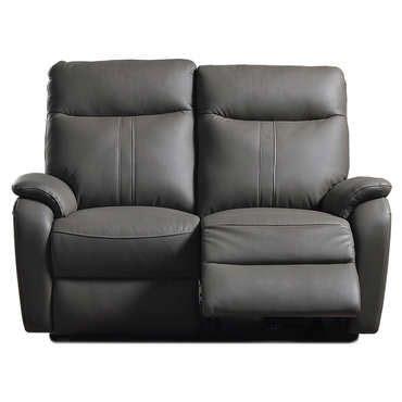 comparateur canapé canapé de relaxation électrique 2 places nlk coloris gris