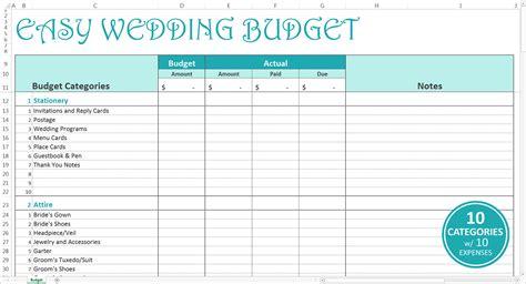 wedding budget excel spreadsheet uk db excelcom