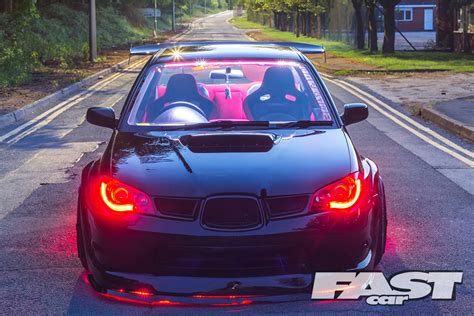fastest subaru wrx modified subaru impreza wrx fast car