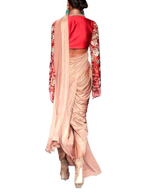 siddartha tytler dhoti style pre pleated saree shop