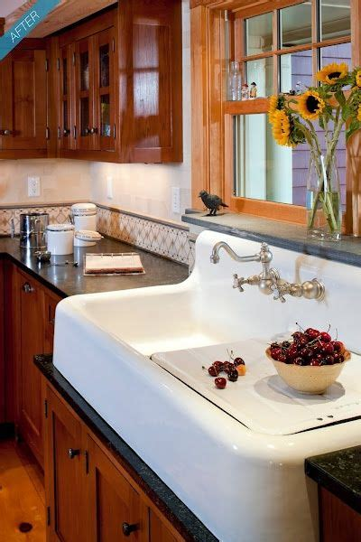 country style kitchen sink farmhouse sinks with drainboards images 6222
