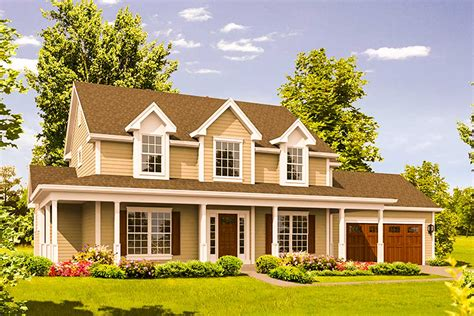 Country Home Plans Wrap Around Porch by Country Home With Wrap Around Porch 57304ha